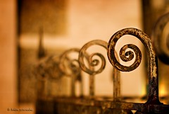 |@@@@@ (helen sotiriadis) Tags: paris france sunrise canon fence spiral gold iron published dof bokeh depthoffield swirl sacrcur canonef50mmf14usm canoneos40d dslrmag updatecollection