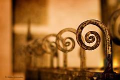 |@@@@@ (helen sotiriadis) Tags: paris france sunrise canon fence spiral gold iron published dof bokeh depthoffield swirl sacrécœur canonef50mmf14usm canoneos40d dslrmag updatecollection