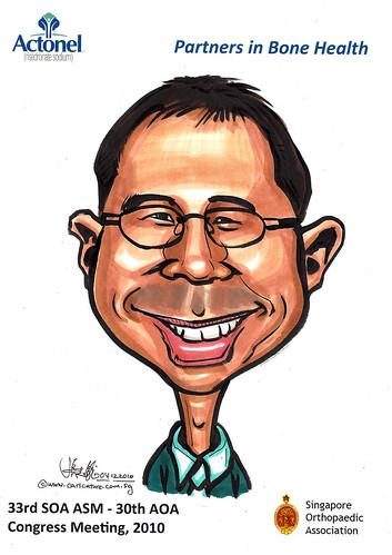 Caricatures for Sanofi-Aventis - 21
