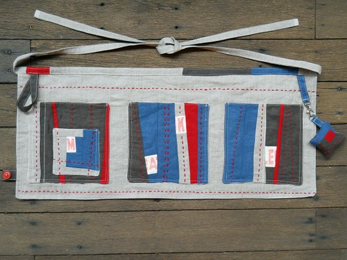 linen utility apron - issue 4