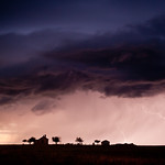 The Dawson Place/Storm On Southeast Colorado Plains