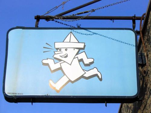 paperboy sign