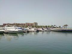 KUWAIT_MARINA CRESENT (husainbourisly) Tags: beach marina mall asia gulf kuwait salmiya cresent