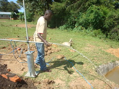 Ebusyubi primary school-Test pumping phase