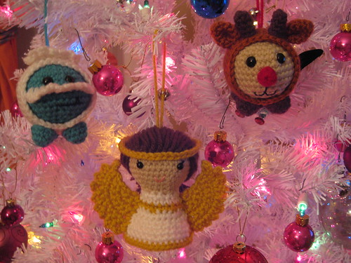 My Amigurumi Ornaments