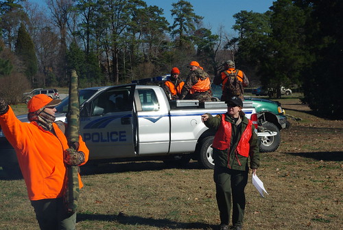 Organized hunts in Virginia State Parks