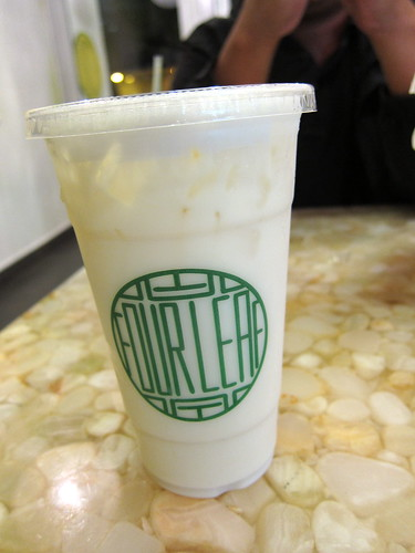 osthmanthus oolong milk tea