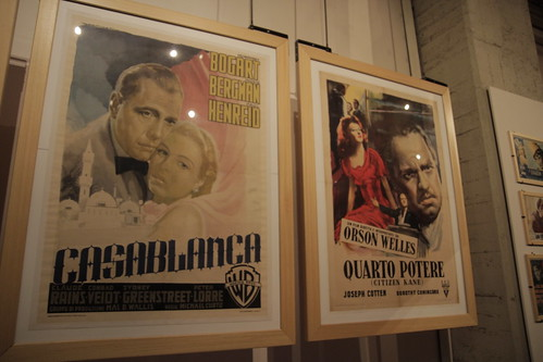 Casablanca and Citizen Kane italian posters