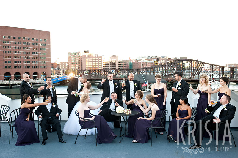 Boston Wedding on The Odyssey