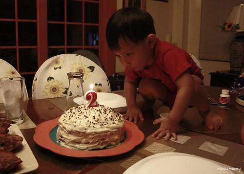 DW's Choco Cake on Nov 30