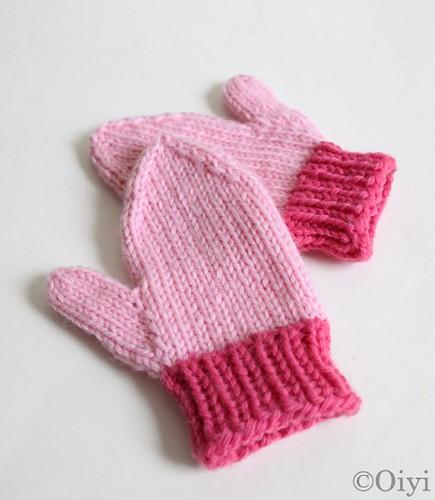 Pink Mittens