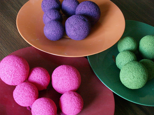 Glittered Candy, Step 1