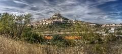 Morella (pbr42) Tags: autostitch panorama valencia architecture town spain hill fortification defense hdr morella qtpfsgui