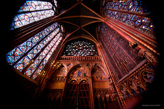 Sainte Chapelle from Paris-49 (christian_jacquet) Tags: paris france church louis king catholic religion gothic 9 stainedglass saintlouis blanche gothique chapelle saintechapelle roi 1242 architecte vitraux moyenage castille catholique architec 1248 pierredemontreuil royaute middleadge windowscarlzeiss
