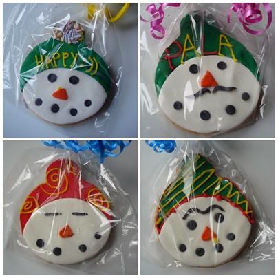 snowman cookie 1