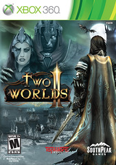 Two Worlds II - North America box cover art