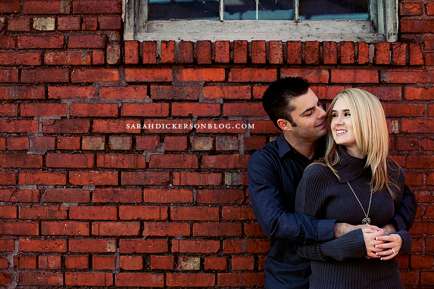 Crossroads Art District engagement photos