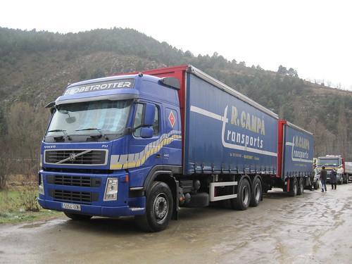 Volvo a Martinet de Cerdanya