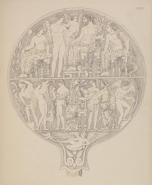 Etruskische Spiegel by Eduard Gerhard, 1840s g