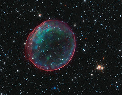 Soap Bubble In Space?