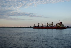 ocean royal (FutureDays) Tags: argentina river ship cargo rosario rioparana puenterosariovictoria