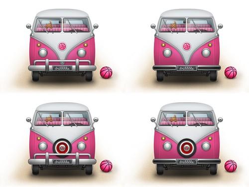 Dribbble Bus