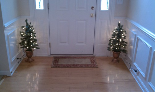 entryway w/ my 12 dollar CVS deal!