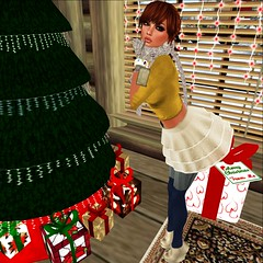 sometimes, i can't not touch (Brianne Sarjeant) Tags: christmas pose daddy model holidays boots avatar friday happyholidays shag kookie kyoot twhore whippetbuck 50lfriday themeory bullshitshapes