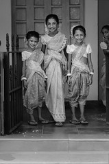 At Goa in the Holiday Season, Three Angels from Bonderam at Diwar. Happy Xmas Everyone !!! bnw (Anoop Negi) Tags: pink blue girls red portrait india white cute girl beautiful festival island photography gold for photo media pretty dress image photos gorgeous delhi indian bangalore goa creative images best angels indie po mumbai ethnic hindu saree anoop indien smashing inde piedade bangles negi dispute   goan ndia chappals photosof  hawaai  ezee123 bonderam  intia  diwar n bestphotographer   imagesof anoopnegi  bounday    jjournalism  ndia n indi