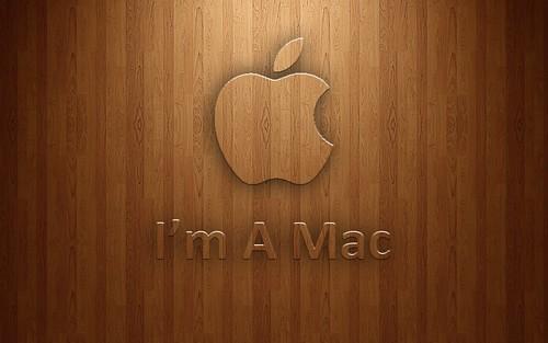 mac wallpapers wood. Apple Wood I#39;m A Mac Wallpaper