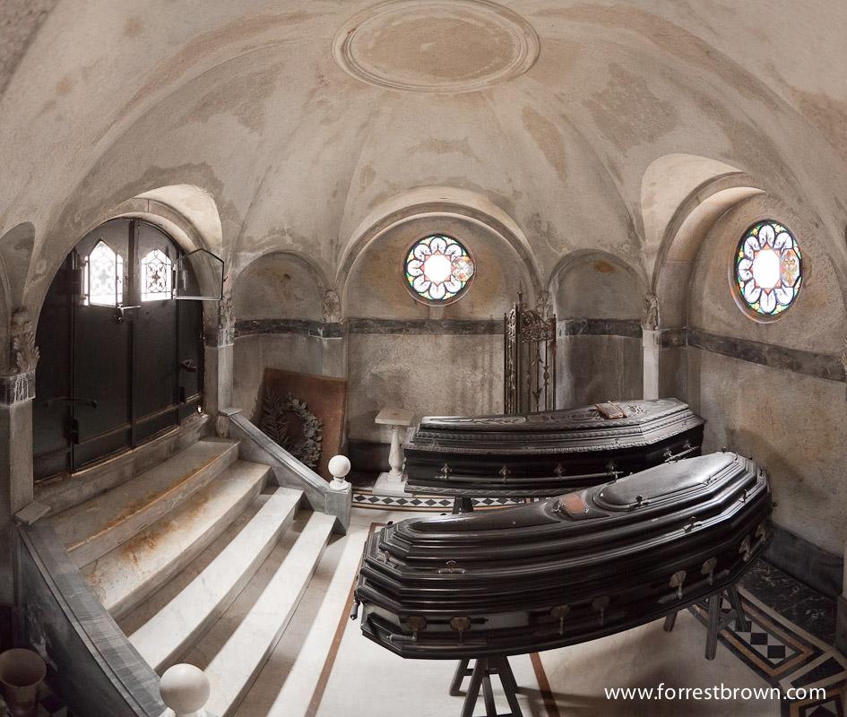 Recoleta Mausoleum Panorama