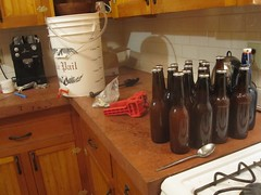 bottling cider batch 2