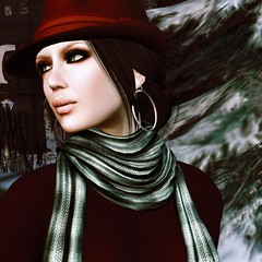 Happy Christmas! (Janice Jupiter) Tags: fashion digital photoshop blog 3d clothing avatar linden style clothes sl secondlife virtual blogging league cs5 janicejupiter jupiterville jupitervillestylecom