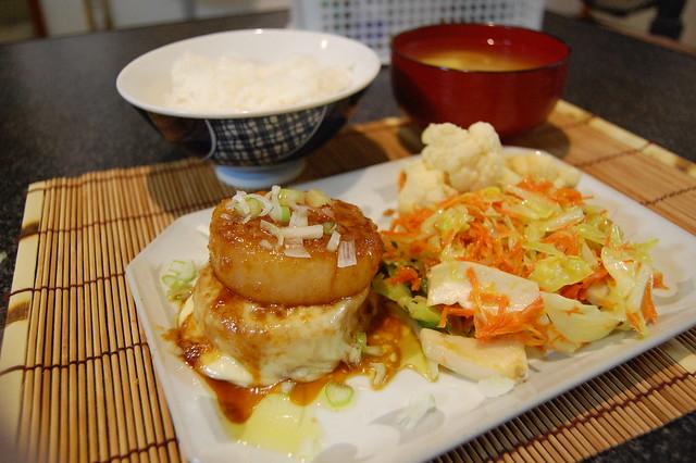 大根のガーリックチーズステーキで野菜タップリ晩ご飯! #jisui