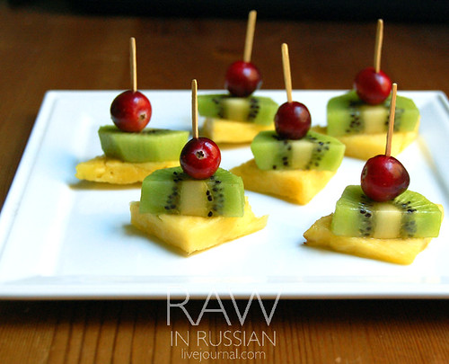 Fruit canape