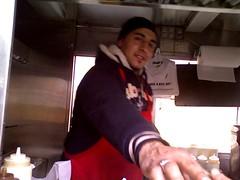 Little Morocco Halal Cart 40th and 7th Ave NY NY
