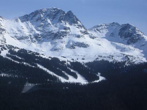 Blackcomb As Seen from Peak to Peak