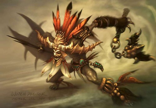 Diablo III Class: The Witch Doctor