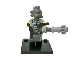 Apocalypse Gunner ([L]ego}}]]) Tags: lego apocalypse gunner minigun minifigure