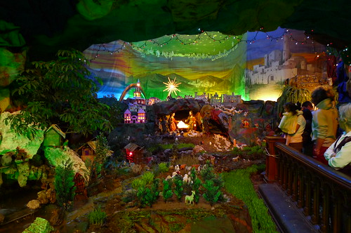 Nativity Scene - Iglesia La Merced - Lima, Peru