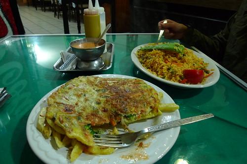 Tortilla de verduras - Ovatalo, Ecuador