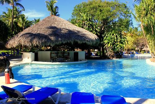 Pool Bar in Bavaro Princess Resort