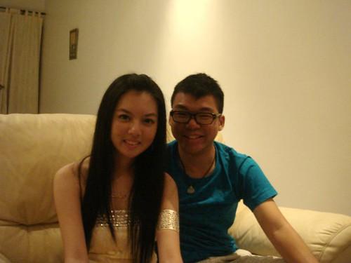 Chee Li Kee and Wen Jie