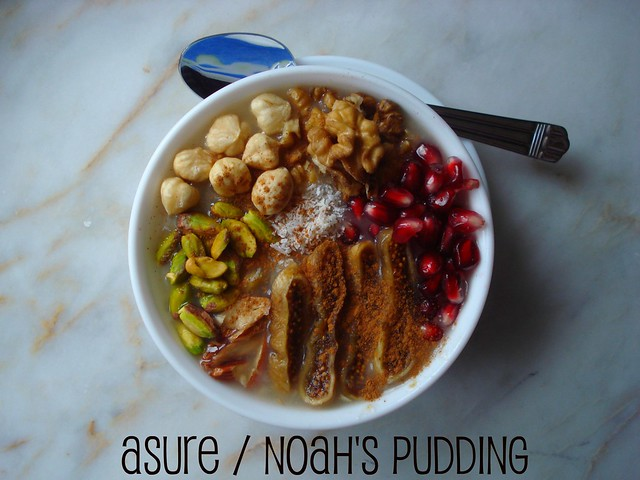 asure-noah pudding