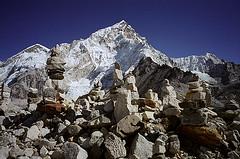 Mount Nuptse, Nepal (lightroomphotos) Tags: nepal asia great border photojournalism climbing trail mountaineering change tibetan geography himalaya exploration khumbu range climate himalayas himalayan sherpas himal jmg00010