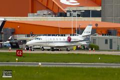 G-OSVM - 560-5770 - Eurojet Aviation - Cessna 560XL Citation XLS - Luton - 100429 - Steven Gray - IMG_0557