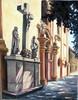 Ulaz u crkvu Sv.Trojstva UP10-196:50/35x50cm.
