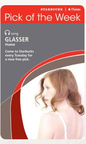 Starbucks iTunes Pick of the Week - Glasser - Home