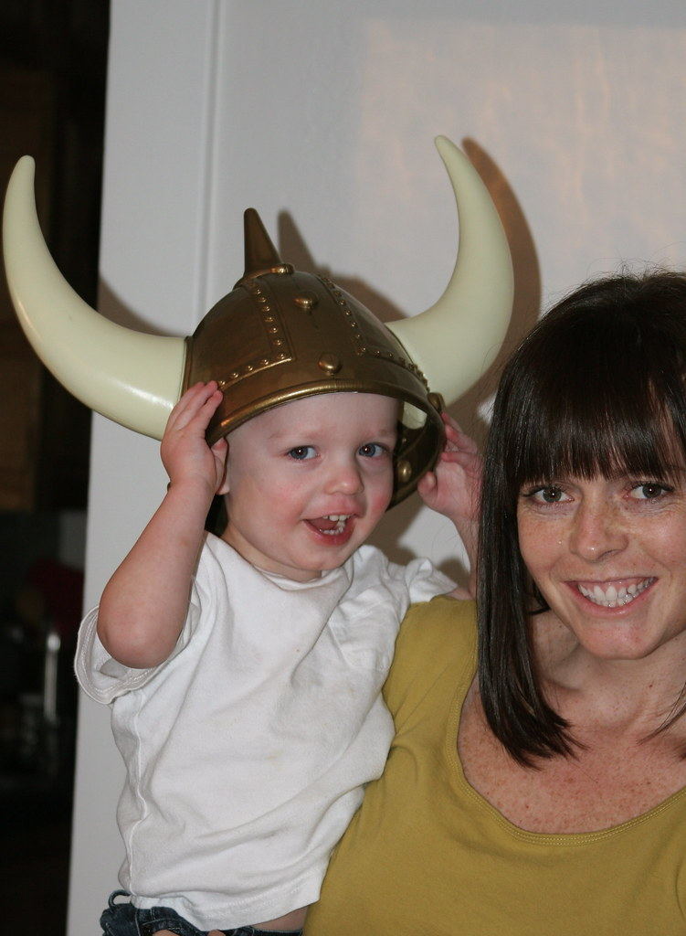 The Mom and the Viking