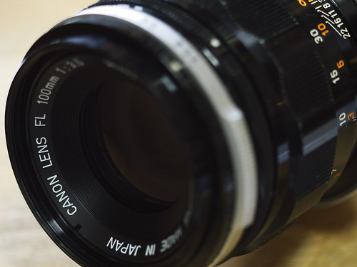 Canon FL 100mm F3.5